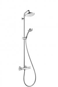 Croma 220 Showerpipe, поворотный держатель 400 мм