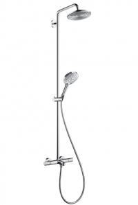 Raindance Select S 240 Showerpipe для ванны, поворотный держатель 450 мм