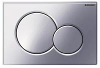 Смывная клавиша Geberit Sigma01 для двойного смыва - Глянцевый хром