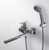 RIFFLE RF0431  Смеситель для ванны, излив 300мм с аксессуарами